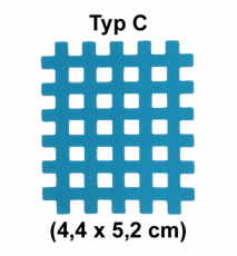 AcuTop Gittertape blau